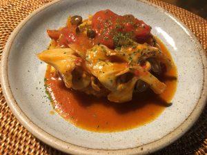 簡単時短レシピ トマト煮込みハンバーグ
