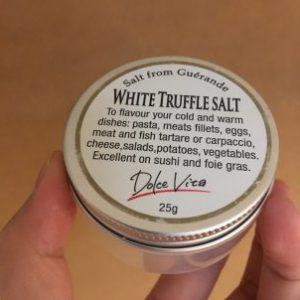 カルディ 白トリュフ塩