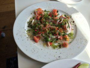 シチリアーナ 七里ヶ浜 鮮魚のカルパッチョ