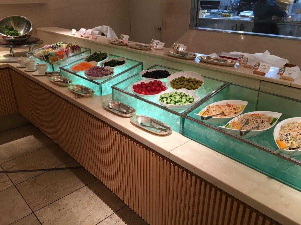 ホテルオークラ東京 ランチ ベジタブルガーデン サラダバー