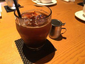 黒船 café COCOOCEN アイスコーヒー