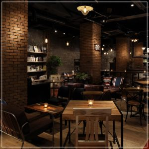 自由が丘 Blue Books Cafe