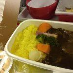 ハワイのブログ旅行記/空港とJALの飛行機の記録。機内食が資生堂パーラー監修だったりシャンパン飲めたり