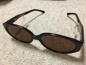 グランパグラス 鼻に跡がつかないサングラス