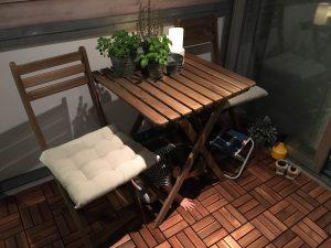 IKEA ガーデンテーブル