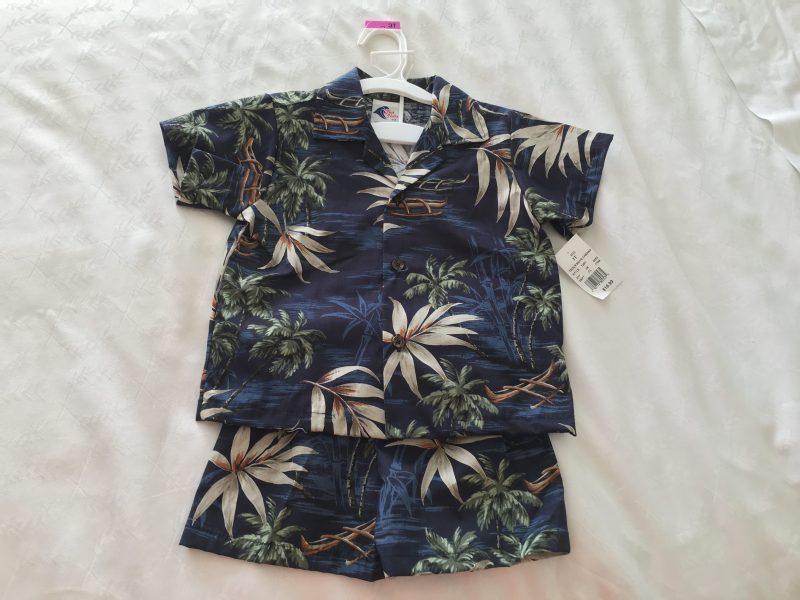ハワイ お土産 子供 アロハシャツ