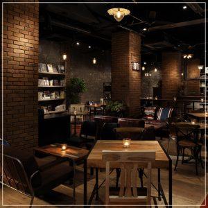自由が丘 Blue Books Cafe