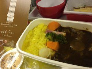 JAL 機内食 資生堂パーラー