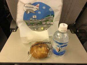 JAL 機内食 朝