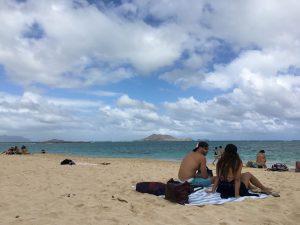 ハワイ カイルア ラニカイ・ビーチ