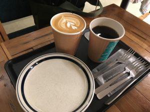&Swell コーヒー カフェラテ