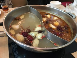 二子玉川 薬膳火鍋 天香回味 ランチ